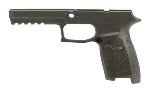 Sig Grip Module Assy P250/P320 9mm/40SW/357 Full Size Large. OD Green