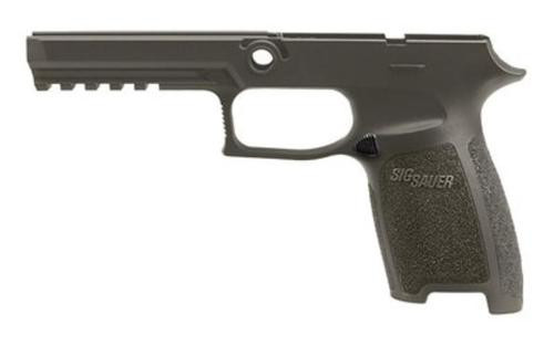 Sig Grip Module Assy P250/P320 45 Full Size Medium, OD Green