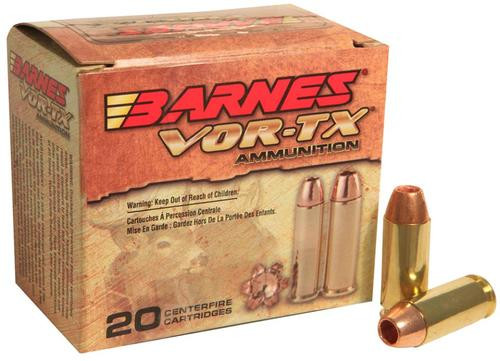 Barnes VOR-TX Handgun Hunting 10mm 155gr, XPB 20rd Box