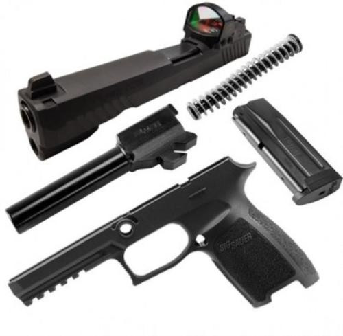 Sig Caliber X-Change Kit, P320 Full, 9mm, RX, Black