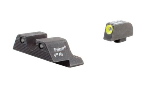 Trijicon Heavy Duty Night Sights Yellow Front Outline Glock 20/21/21SF/29/30/31/32/36/37