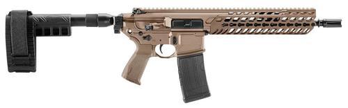 "Sig MCX Pistol 223 Rem/5.56 NATO, 11.5"", Stabilizing Brace, Flat Dark Earth, 30rd"