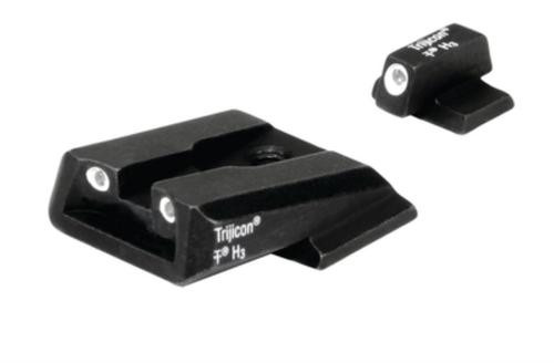 Trijicon Bright & Tough Night Sights for Novak M&P 3 Dot front & rear night sight set