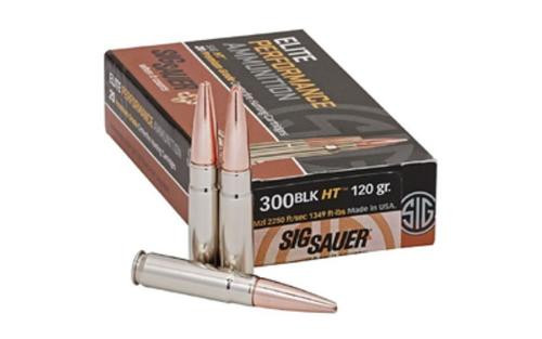 Sig Ammo 6.5 Creedmoor 120gr, Elite Hunter, 20rd Box