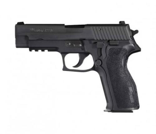 Sig 226R Nitron Full Size 9mm, Tac Rail, Black Nitron, 15rd Mag