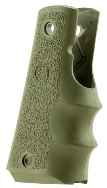 Hogue 1911 Govt Model Finger Groove Grip Textured Rubber
