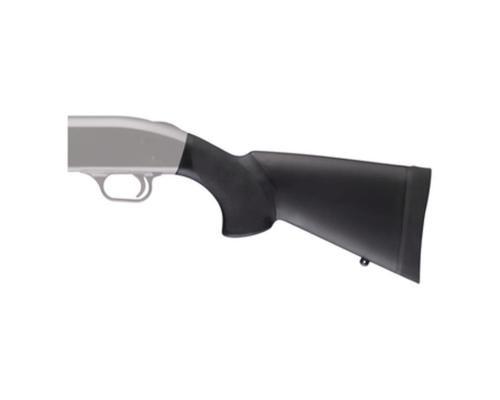 "Hogue Overmold Shotgun Stock Mossberg 500 Combination Kit 12"" Length of Pull Black"