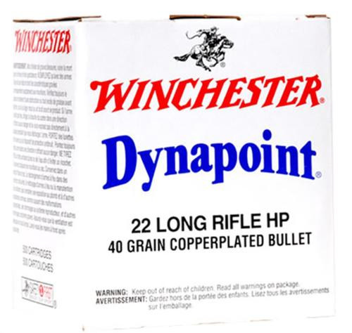 Winchester Dynapoint .22LR 40gr, Hollow Point, 500rd/Box