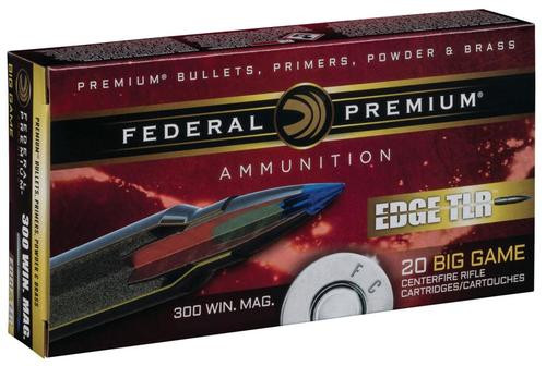 Federal Edge TLR 300 Win Mag 200gr, Terminal Long Range, 20rd Box