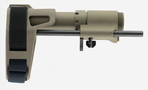 """SB Tactical PDW AR-15 Brace Flat Dark Earth Elasto-Polymer 6.75""""-9.375"""" L"""