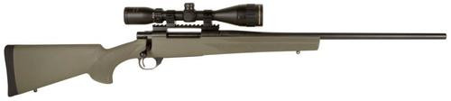"""Howa Hogue Gamking Scope Package, 7mm-08 Rem, 22"""", 5rd, Green Stock"""