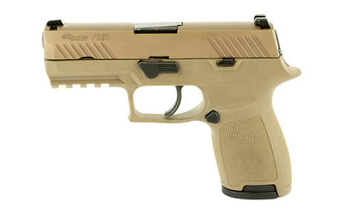Sig P320 Compact 9mm, FDE, Striker Fired, DAO, Medium Grip, 10rd