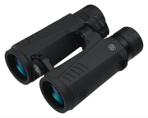 Sig Zulu5 Binocular, 10X42mm, HD Lens, Open Bridge, Black