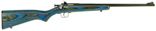 "Keystone Crickett 22LR, 16.12"", Blue Laminate Stock"