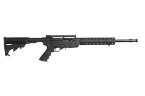 """Ruger SR22, 22LR, 16"""", 10rd, Black Synthetic Collapsible Stock"""