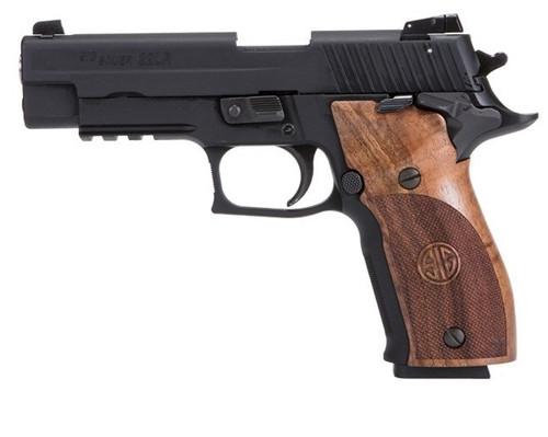 Sig P226 22LR 2 Step, Black Finish, Wood Grips, 2x10rd