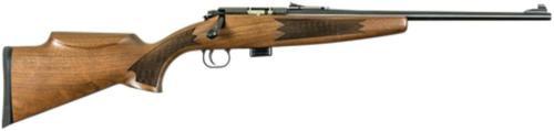 "Keystone Crickett Gen 2 Model 722 Compact 22LR 16.25"" Barrel Blue Finish Deluxe Walnut Stock 7rd"
