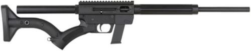 """Just Right Carbines Just Right Carbines Gen3 SAFE Act Takedoen 9mm 17"""" Unthreaded Barrel Blue Finish FRS-15 Stock Black 10rd Glock Compatible Magazine"""
