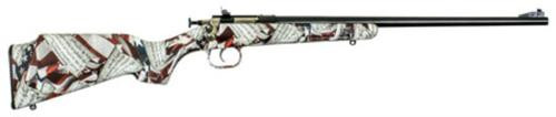 "Keystone Crickett 22LR, 16"", Synthetic Stock, Blued"