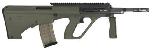 """Steyr AUG A3 M1, .223/5.56, 16"""", 30rd, Extended Rail, Green Synthetic Stock"""