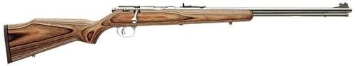 "Marlin XT-22MTSL ProFire Adjustable Trigger, 22"" SS Barrel Laminate Brown Stock, Hood Sights, Rifle Pad 12 shot"