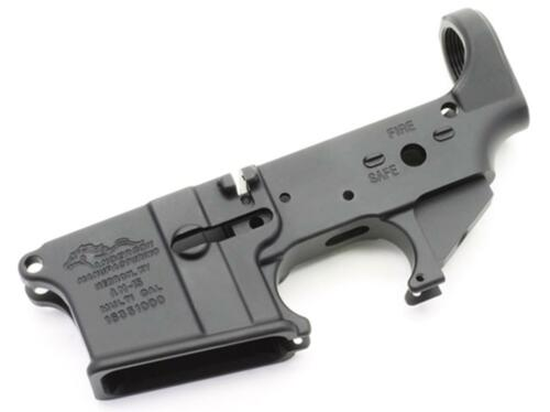 Anderson AR-15 Stripped Lower Receiver Multi-Caliber Black Hardcoat - Packaged