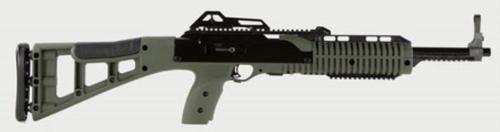 """Hi-Point 995TS Carbine 9mm 16.5"""" Barrel, Polymer Skeleton OD Green Stock Black, 10rd"""