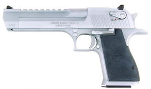"Magnum Research Desert Eagle, .357 Mag, 6"", Matte Chrome, 9rd"
