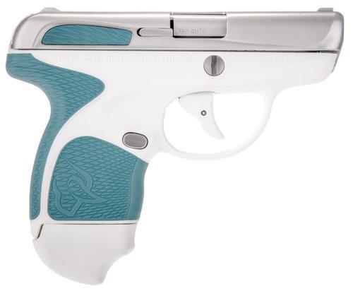 "Taurus Spectrum Double 380 ACP 2.8"", /7+1 Laguna Blue Polymer Grip Stainless Steel,  6 rd"