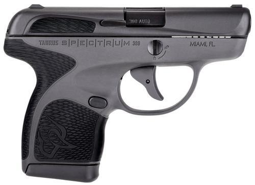 "Taurus Spectrum .380 ACP, 2.8"", 6/7rd, Black Polymer Grip, Black"
