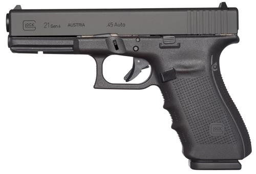 "Glock G21 Gen4, 45 ACP, 4.6"", 13rd, Black, US Made"