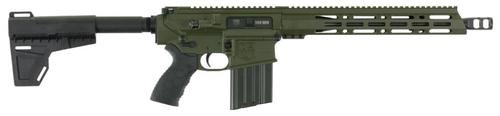 "Diamondback DB10 AR10 Pistol, .308 Win, 13.5"", 20rd, OD Green"