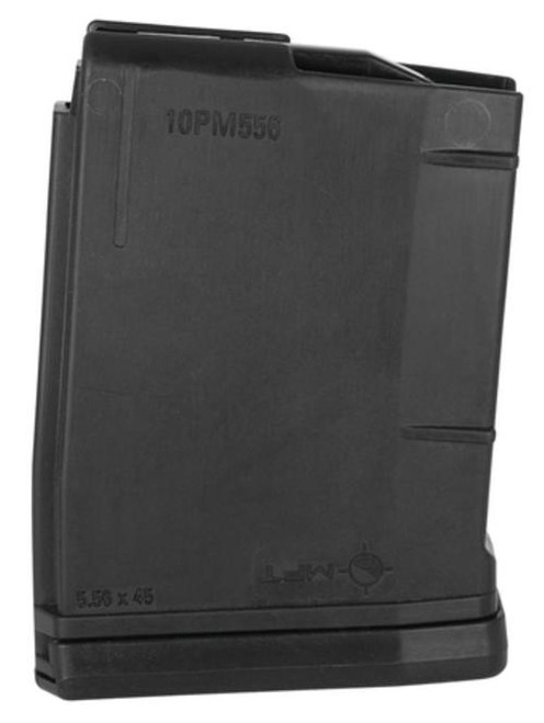 Mission First Tactical Polymer Magazine AR-15 5.56x45mm/.223 Rem/.300 AAC Blackout Black 10rd Bagged