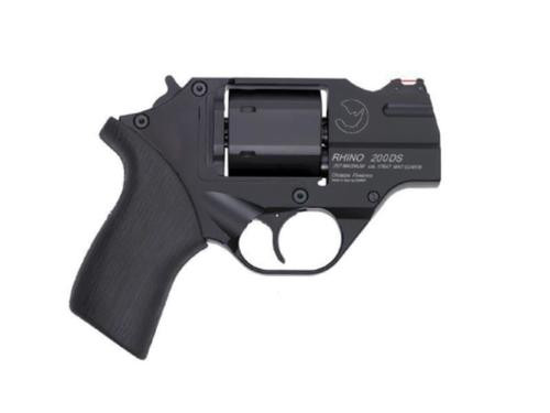 "Chiappa Firearms Rhino 200ds .357/9mm, 2"" Barrel, 6rd, Black"