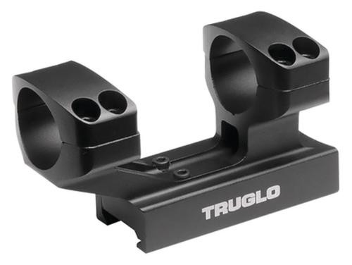 "Truglo Riser Mount 1-Piece Base 30mm Dia 1"" Black Matte Anodized"