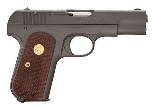 "Colt 1903 Hammerless .32 ACP, 3.75"" Barrel, Walnut Grip, Blued Finish 8rd Mag"