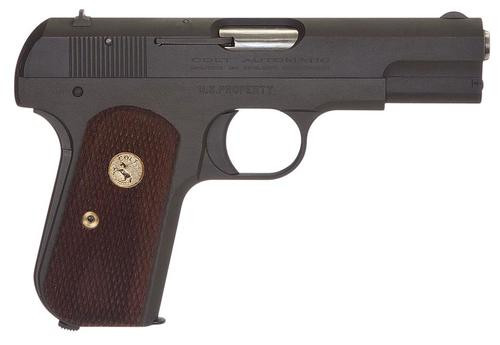 "Colt 1903P Hammerless, .32 ACP, 3.75"", 8rd, Walnut Grip, Gray Parkerized"