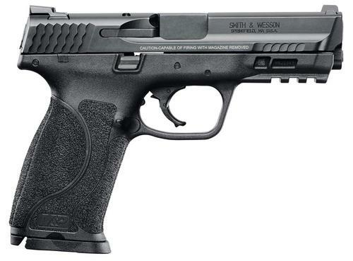 "Smith & Wesson M&P M2.0, 9mm, 4.25"", 10rd, Black, MA Compliant"
