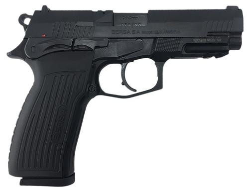 "Bersa Thunder Pro Single/Double 9mm 4.25"" Barrel, Black Polymer Grip B, 17rd"