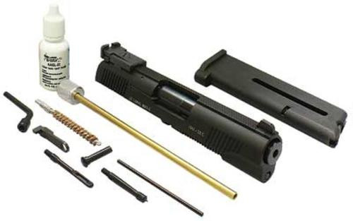 Advantage Arms Conversion Kit, 22LR, Fits Commander 1911, With Cleaning Kit, Black, Target Sights, 1-10Rd Magazine