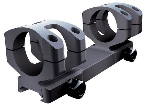 Nikon 1-Pc Base & Ring Combo For Black Series Black Matte Finish MED