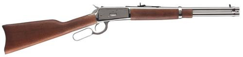 "Rossi R92, Lever Action, 357 Mag Mag, 16""rd Barrel, Stainless Finish, Wood Stock, Adjustable Sights, 8Rd"