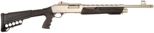 "Dickinson Defense Pump 12 Ga, 30"", 3"" Chamber, 5rd, Synthetic Adj., Pistol Grip, Marinecoat"