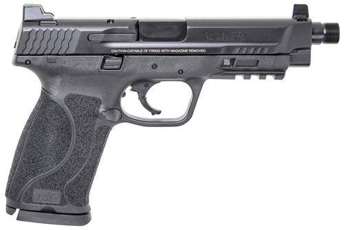 """Smith & Wesson M&P M2.0 45 ACP 5"""" Threaded Barrel Tall White Dot Sights No Thumb Safety 10rd Mag"""