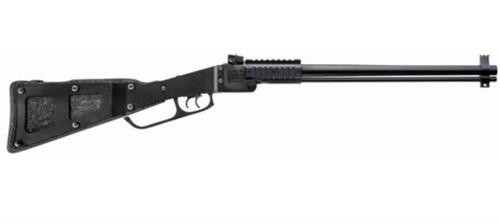 "Chiappa Firearms M6 12 Ga/22LR Combo, 18.5"" Barrel, Folding Stock, Black"
