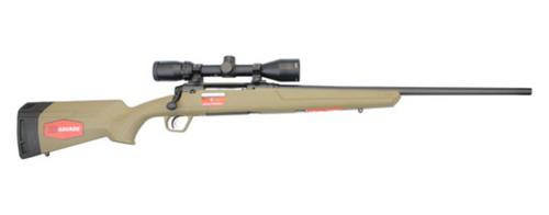 "Savage Axis II, Flat Dark Earth W/Scope, 6.5 Creedmoor 22"" Sporter Barrel, Flat Dark Earth Polymer Stock, Banner 3x9x40 Scope, 4 Rd"