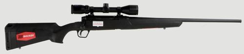 Savage Axis II XP 6.5mm Creedmoor 22 Inch Barrel Matte Black Banner 3-9x40mm Riflescope Black Synthetic Stock 4 Round