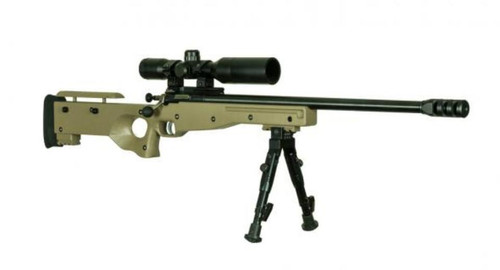 "Keystone Crickett 22 Magnum CPR Complete Package, Scope,16"" Heavy Barrel Muzzle Brake Single Shot"