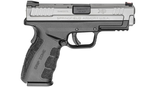"Springfield XD Mod.2 Tactical 45 ACP, 4"" Barrel, Fiber Optic Front Sight SS Slide 13rd Mag"