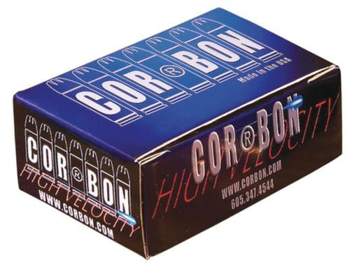 Cor Bon Self Defense .38 Special+P 125gr, Jacketed Hollow Point 20rd Box